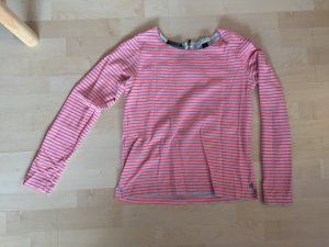 Maison scotch Pullover gestreift neon
