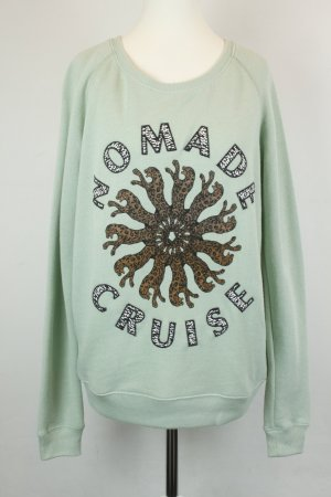 "Maison Scotch Pullover Strickpullover Gr. 1 / XS grün ""Nomade Cruise"""
