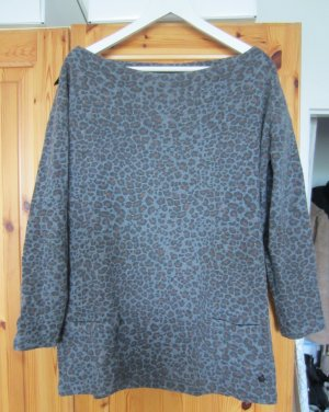 Maison Scotch Pullover Wolle Leopard animal Gr. M TOP