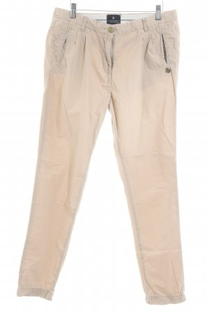 Maison Scotch Drainpipe Trousers beige casual look
