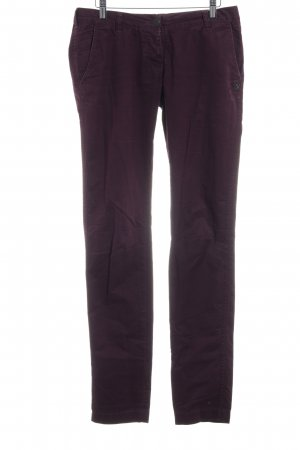Maison Scotch Röhrenhose purpur Casual-Look