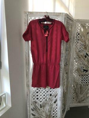 Maison Scotch Rosa-Rote Kleid, S