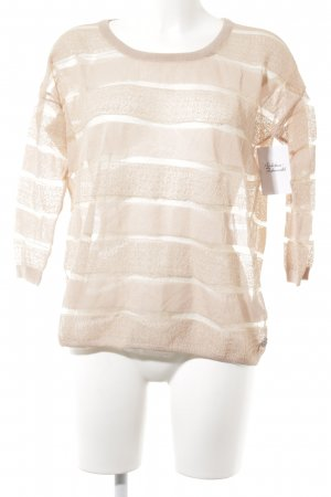 Maison Scotch Rundhalspullover altrosa Casual-Look