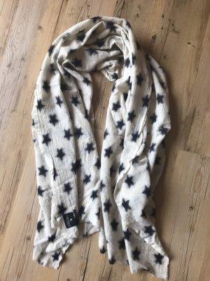 Maison Scotch Schal mit Sternen