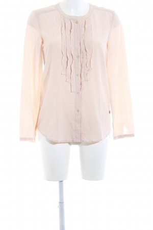 Maison Scotch Seidenbluse altrosa Business-Look