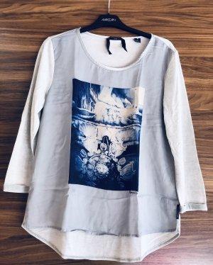 Maison Scotch Camisa tipo túnica azul aciano-azul celeste