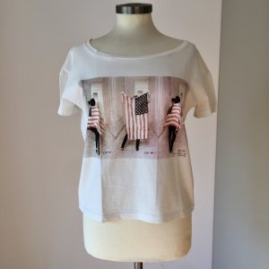 Maison Scotch Camicia oversize multicolore