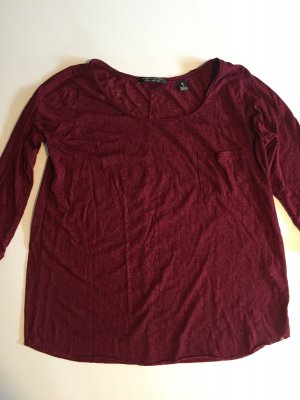 Maison Scotch Shirt Dreiviertel-Arm gemustert Gr. S