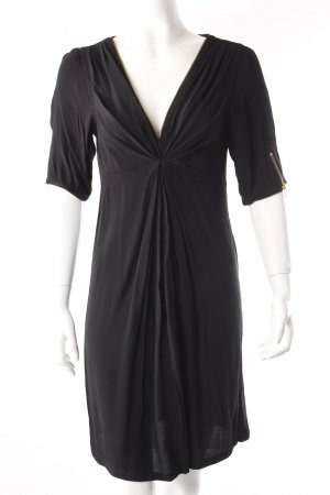 Maison Scotch Shirt-Kleid schwarz