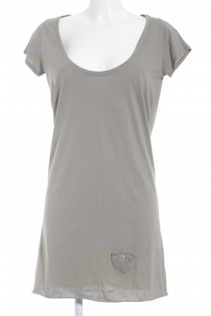 Maison Scotch Robe t-shirt beige style décontracté