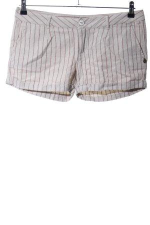 Maison Scotch Shorts hellgrau Streifenmuster Casual-Look