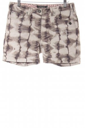 Maison Scotch Shorts abstraktes Muster Boyfriend-Look