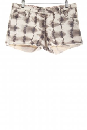 Maison Scotch Shorts Batikmuster Casual-Look