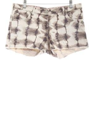 Maison Scotch Shorts Batikmuster Casual-Look