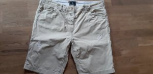Maison Scotch Bermudas natural white cotton