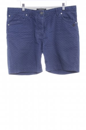 Maison Scotch Shorts blau Punktemuster Casual-Look