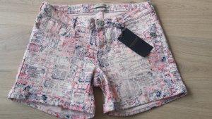Maison Scotch Shorts Gr 27 rosa gemustert