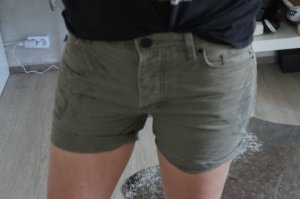 Maison Scotch Short gris brun