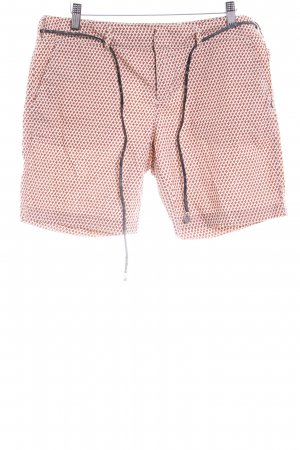 Maison Scotch Shorts rostrot-wollweiß Casual-Look