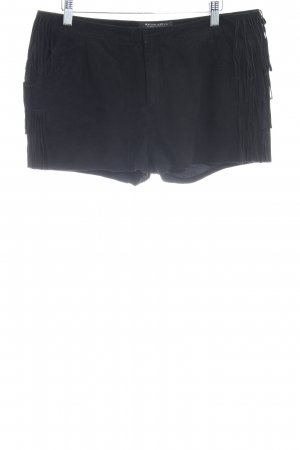Maison Scotch Shorts schwarz Country-Look