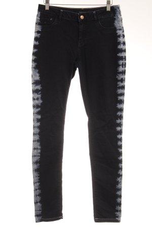 Maison Scotch Skinny Jeans dunkelblau Batikmuster Casual-Look