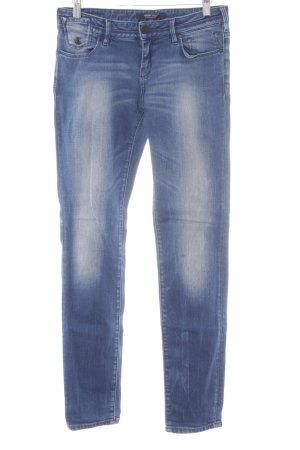 Maison Scotch Skinny Jeans dunkelblau-himmelblau Casual-Look