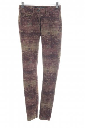 Maison Scotch Skinny Jeans Farbtupfermuster Casual-Look