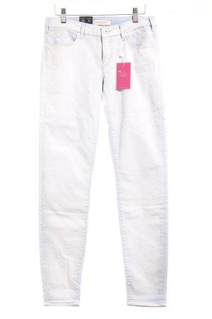 Maison Scotch Skinny Jeans himmelblau Jeans-Optik