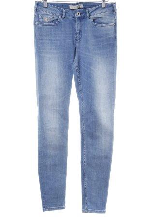 Maison Scotch Skinny Jeans kornblumenblau-himmelblau Casual-Look