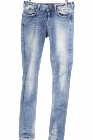 Maison Scotch Skinny Jeans kornblumenblau Jeans-Optik