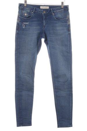 """Maison Scotch Skinny Jeans """"LA PARISIENNE SKINNY"""" stahlblau"""