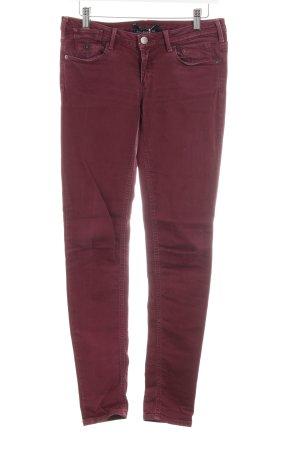 Maison Scotch Jeans skinny viola stile classico