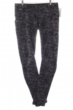 Maison Scotch Skinny Jeans schwarz-grauviolett Casual-Look