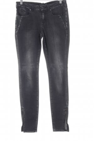 Maison Scotch Skinny Jeans schwarz Jeans-Optik