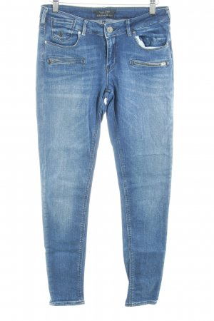 Maison Scotch Skinny Jeans stahlblau-kornblumenblau Casual-Look