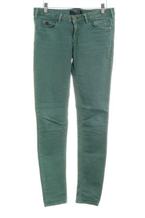 Maison Scotch Jeans skinny verde bosco stile classico