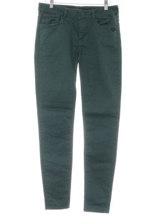 Maison Scotch Skinny Jeans waldgrün schlichter Stil
