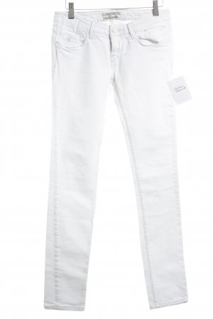 Maison Scotch Skinny Jeans weiß sportlicher Stil