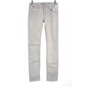 Maison Scotch Skinny Jeans wollweiß-himmelblau Casual-Look