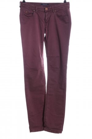 Maison Scotch Slim Jeans rot Casual-Look