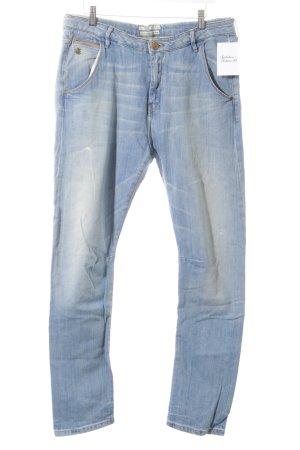 Maison Scotch Slim Jeans blau Destroy-Optik