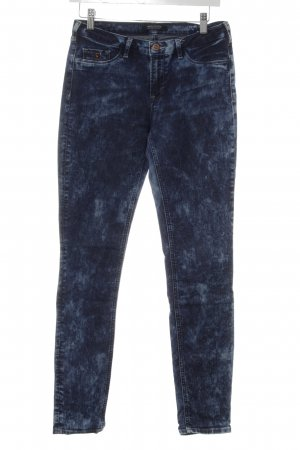 Maison Scotch Slim Jeans blau Farbverlauf Street-Fashion-Look