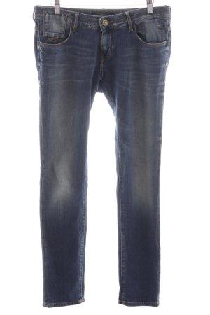 Maison Scotch Slim Jeans blau Street-Fashion-Look