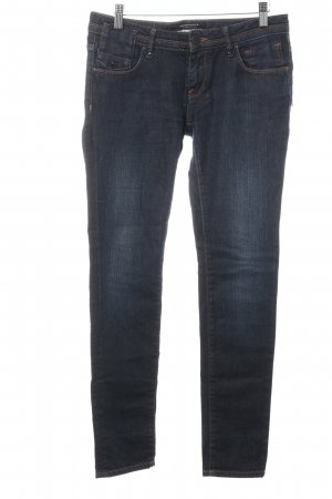 Maison Scotch Slim Jeans dunkelblau Washed-Optik