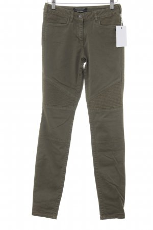 Maison Scotch Slim Jeans khaki Biker-Look