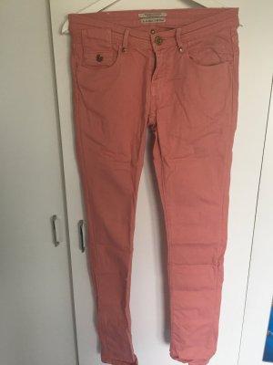 Maison Scotch Slim Jeans Lachs Koralle Gr. 36