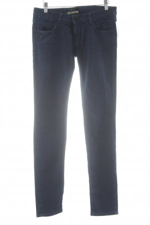 Maison Scotch Slim Jeans stahlblau Street-Fashion-Look