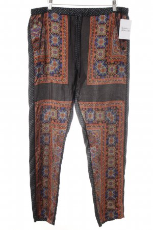Maison Scotch Stoffhose abstraktes Muster Casual-Look