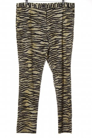 Maison Scotch Stoffhose Animalmuster Casual-Look