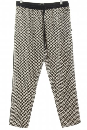 Maison Scotch Stoffhose Allover-Druck Casual-Look